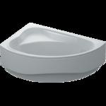 Ванна ассиметричная Santa левая 150х100х39