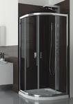 Душевой уголок LAZURO 90 стекло прозрачное  100-06565