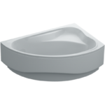 Ванна ассиметричная Santa правая 150х100х39