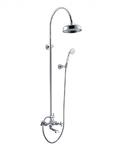 Душевая система IMPRESE Cuthna T-10280 stribro