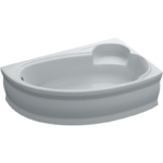 Ванна ассиметричная Adele правая 170х110х40