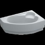 Ванна ассиметричная Leoni правая 170х110х43