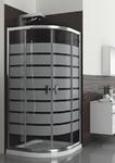 Душевой уголок  LAZURO 80, стекло brick 100-06566