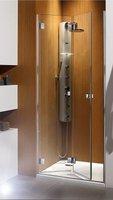 Складная дверь в нишу Radaway Carena DWB 80L (793-805x1950) левая, коричневая/хром (34512-01-08NL)