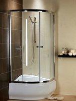 Radaway Premium A90 (90x90x190) прозрачная/хром (30403-01-01)