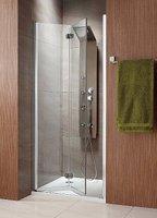 Складная дверь в нишу Radaway Eos DWB 90L (890-910x1970) левая, интимато/хром (37803-01-12NL)