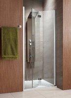 Складная дверь в нишу Radaway Eos DWB 70L (690-710x1970) левая, прозрачная/хром (37883-01-01NR)