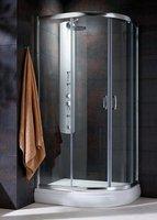 Radaway Premium Plus E120x90 (120x90x190) прозрачная/хром (30493-01-01N)