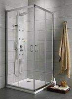 Radaway Premium Plus D90Lx100R (90x100x190) прозрачная/хром (30436-01-01N)