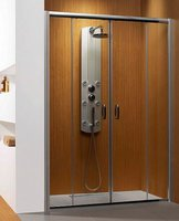 Раздвижная дверь в нишу Radaway Premium Plus DWD 1500 (472-1515х1900) прозрачная/хром (33393-01-01N)