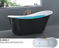 Отдельностоящая акриловая ванна Atlantis C-3003-1