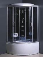 Душевой бокс Atlantis L-508-A (GR) 110x110