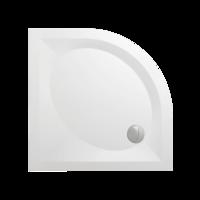 PAA ART RO90 R550 4W полукруглый душевой поддон без сифона