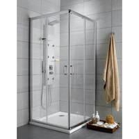 Radaway Premium Plus C100 квадратная (100x100x190) прозрачная/хром (30443-01-01N)
