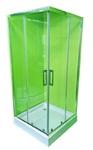 Душевая кабина Veronis KNS-100 прозрачное стекло без поддона 100х100х180