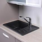 Кухонная мойка Fancy Marble Filadelfia (103060004), цвет светло-черный