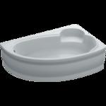Ванна ассиметричная Bianca правая 155х95х39
