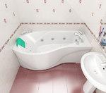 Акриловая ванна TRITON Мишель 180x96x60 правая